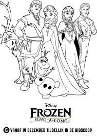 Lekker Meezingen In De Bioscoop Met De Liedjes Van Frozen Kiddowz