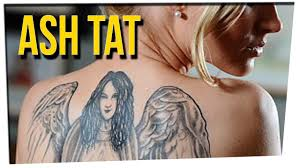 Deceased Woman s Ashes Are Tattooed On Her Sister s Back ft. D.