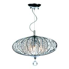 pendant adriatic 3 light pendant polished chrome