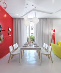 Red Wall Living Room Decorating Red Interior Design Ideas Interiorholic Decorating With Red Red