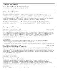 Data Entry Job Description For Resume Resume Format. effective ...