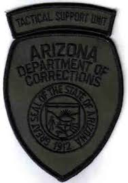 Arizona Correctional Officer State Corrections Patches