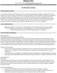 Real Estate Attorney Sample Resume