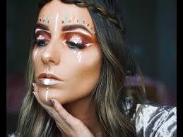 festival hippie makeup tutorial