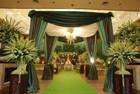 Love Wedding Decorations Javanesse Green Wedding Decor By Agung Decoration Jakarta I Love