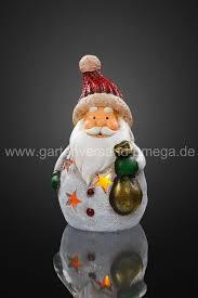 Led Keramik Weihnachtsmann Mit Sack