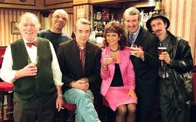 only fools and horses from left to right sid roy heather