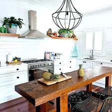 small kitchen island table ideas butcher block narrow with seating large size design ikea b