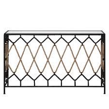 metal hall table. Darya Console Table Metal Hall