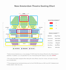 shubert theater nyc seating chart beautiful theater seating chart broadway tickets tickets for of shubert theater