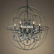 large orb chandelier impressive large orb chandelier with crystals picture ideas large round wooden orb chandelier