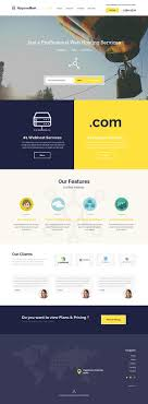 images about templates web page maguwohost psd hosting template by bagus fikri via behance