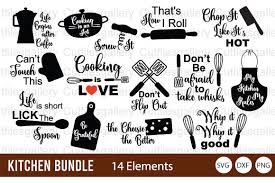 Add a customized saying or quote and make it uniquely yours. 1 Kitchen Tool Svg Designs Graphics