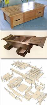 Coffee Table Plans - Furniture Plans and Projects - Woodwork, Woodworking,  Woodworking Tips, Woodworking Techniques