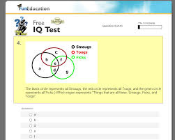 Online free iq testing for teens