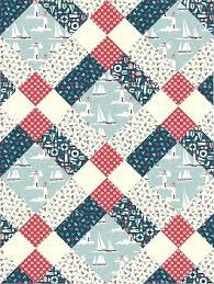 Baby Patchwork Quilt Patterns Uk Lap Quilt Patterns Using Fat ... & ... Patchwork Quilt Patterns Australia Patchwork Quilt Hexagon Template  Mckenzie Clan Pattern From Pattern Jam Using Ahoy ... Adamdwight.com