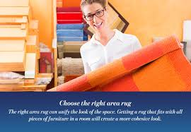 choose the right area rug