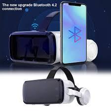 Thiết Bị Giải Trí Kính Thực Tế Ảo VR Shinecon Version G04BS Kết Nối  Bluetooth V4.