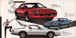 GM 1982 Chevrolet Camaro Sales Brochure