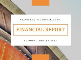 finance report templates orange photo corporate finance report presentation templates by canva