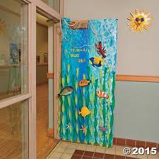 ocean theme classroom door decorations