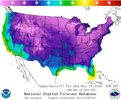 Freezing Temperature All 50 States Have Below Freezing Temperatures Watts Up With That