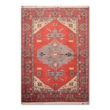 oriental handmade wool area rug 6x9 rugs under 100
