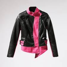 2019 leather jacket full women casual real jaqueta couro 2018 new color matching slim locomotive handsome personality tight female from vikey16
