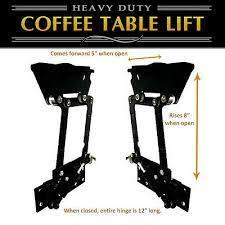 lift top coffee table diy hardware
