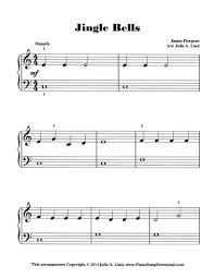 Download and print top quality jingle bells sheet music for piano solo by james pierpont. Jingle Bells Free Level 1 Christmas Piano Sheet Music