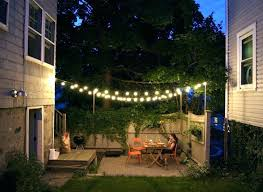 How To Hang Outdoor String Lights Gorgeous Poles To Hang String Lights Poles For Outdoor String Lights
