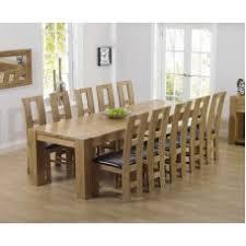 extra large dining set. tampa oak furniture 300cm extra large dining table \u0026 john louis set