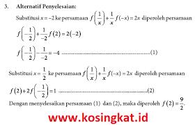 Smpmts semester 1 kurikulum 2013 disertai kunci jawaban. Kunci Jawaban Matematika Kelas 10 Halaman 97 98 Uji Kompetensi 3 1 Kosingkat