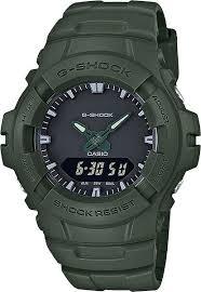 Мужские наручные <b>часы Casio G</b>-<b>100CU</b>-<b>3A</b> кварцевые