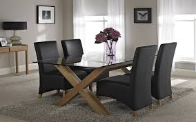 Glass Dining Table With Chairs Rectangular Glass Dining Table Great Dining Table Glass Top