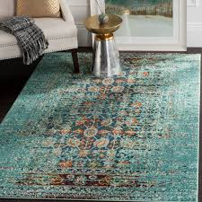 mercury row artemis aqua area rug