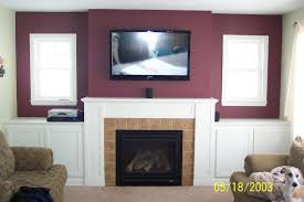 living room smart ideas how to install tv over fireplace 47 from how to install