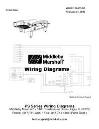 wiring diagrams str 68 u with options m01 to m31 Middleby Marshall Tandem at Wiring Diagram Book For Middleby Marshall