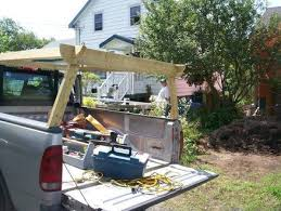 homemade truck rack   Quick release Ladder rack for my truck. - by hikE @