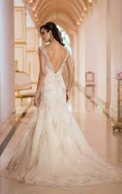 wedding dress backless wedding dress stella york