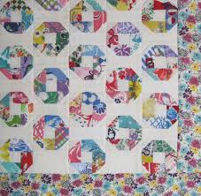 "Happy Childhood Quilt – Aileen Bullard – Q is for Quilter & Feedsack Charm Doll Quilt Top – Little ""O"" Adamdwight.com"