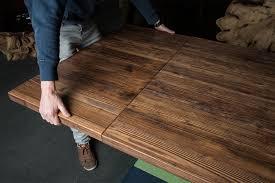 Tischverlängerung Und Ansteckplatten Für Holztische Und Betontische