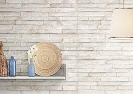 london white brick wall tile roomset