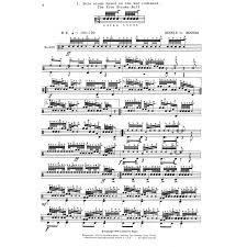 drum set sheet music dennis rogers solo studies for drum set book 3