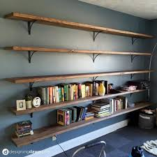 office shelving ideas. Dawnu0027s House DIY Library Shelving Office Ideas