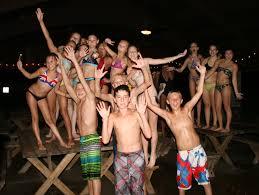 Similar hot teen party