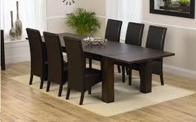 dark wood dining table sets great furniture trading company stylish wood dining table and 6 chairs