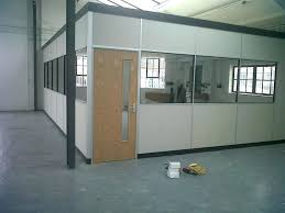 office with no windows. Interior Office Windows Suspended Ceiling Used To  Install Partition In A Warehouse . With No