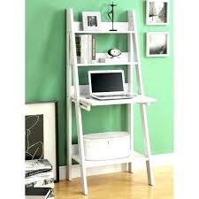 leaning bookshelf leaning shelves with desk full size of large size of leaning bookshelf desk crate