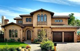 Exterior Stucco Design Decorating Ideas Impressive Exterior Stucco Design Decorating Ideas Blue Houses With House And